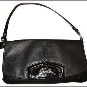 Coach Leather Large Flap Ashley Wristlet F48245SV